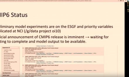 CMS training – Clef: discovering CMIP6