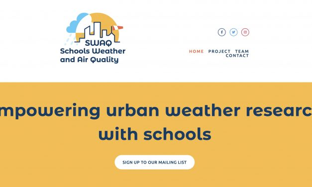 Citizen science meets urban climate: the Schools Weather and Air Quality (SWAQ) project