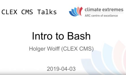 CMS talk: Introduction to Bash – Part 4