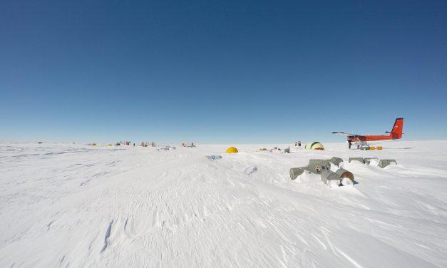 Nerilie Abram's summer in Antarctica
