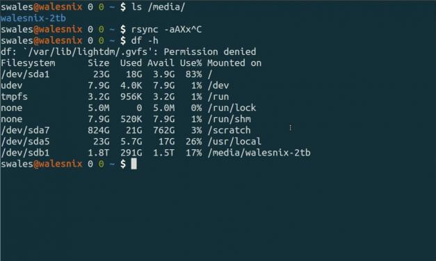 Linux back-ups