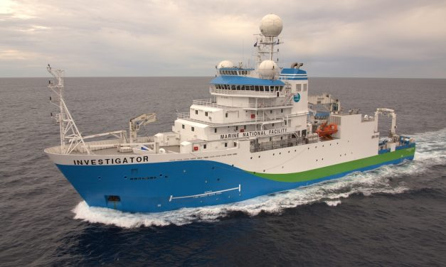 A voyage on RV Investigator – Training observers of the deep ocean