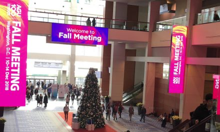 Harika visits AGU 2018 Fall Meeting