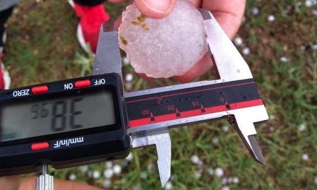 Chasing some of the largest hailstorms in the world