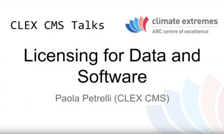 CMS talks: Licensing for data and software