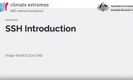 CMS talks: SSH introduction