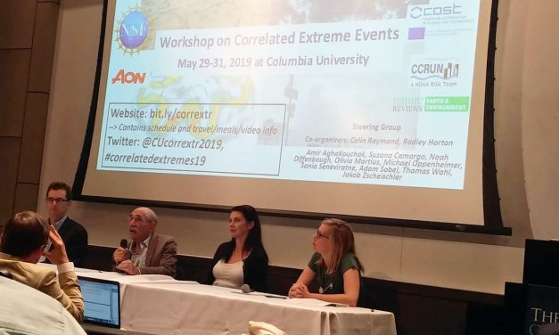 Columbia University's workshop on correlated extreme events