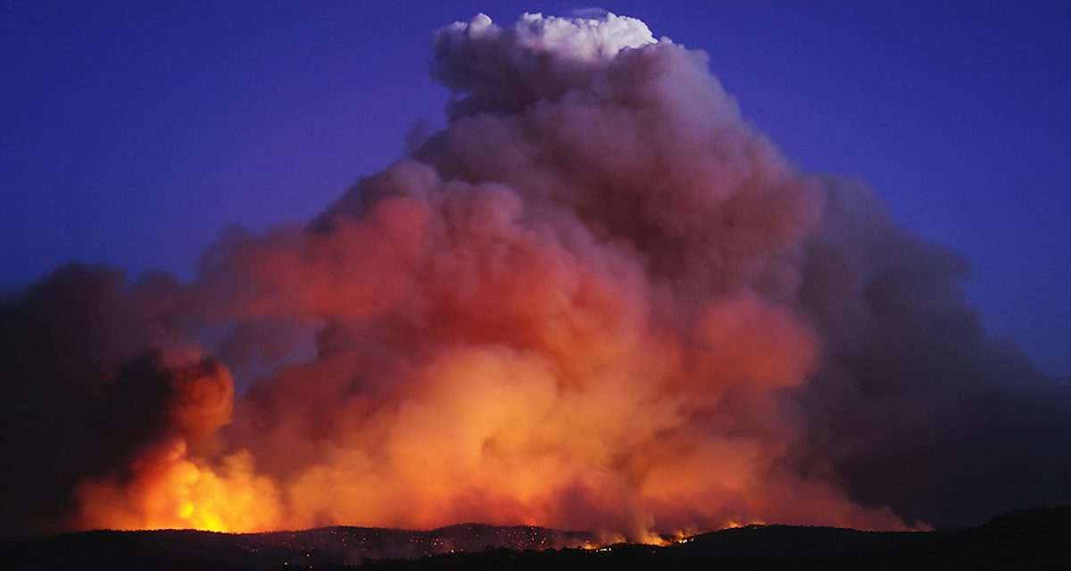 Climate change will increase frequency of Australia's most dangerous fires