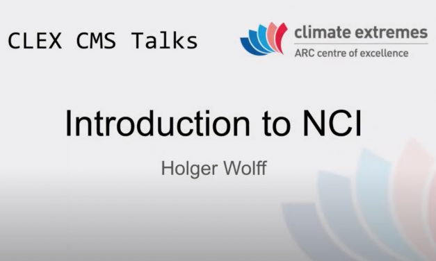 CMS talks: Introduction to NCI